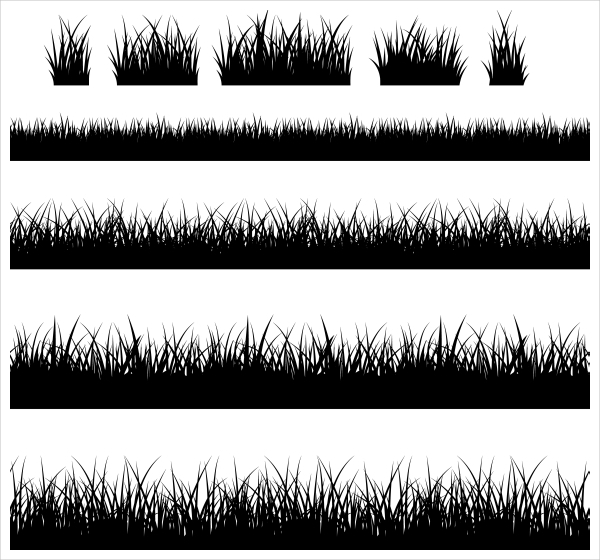 Grass Vector Art