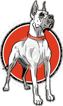 217x361 Great Dane In Color