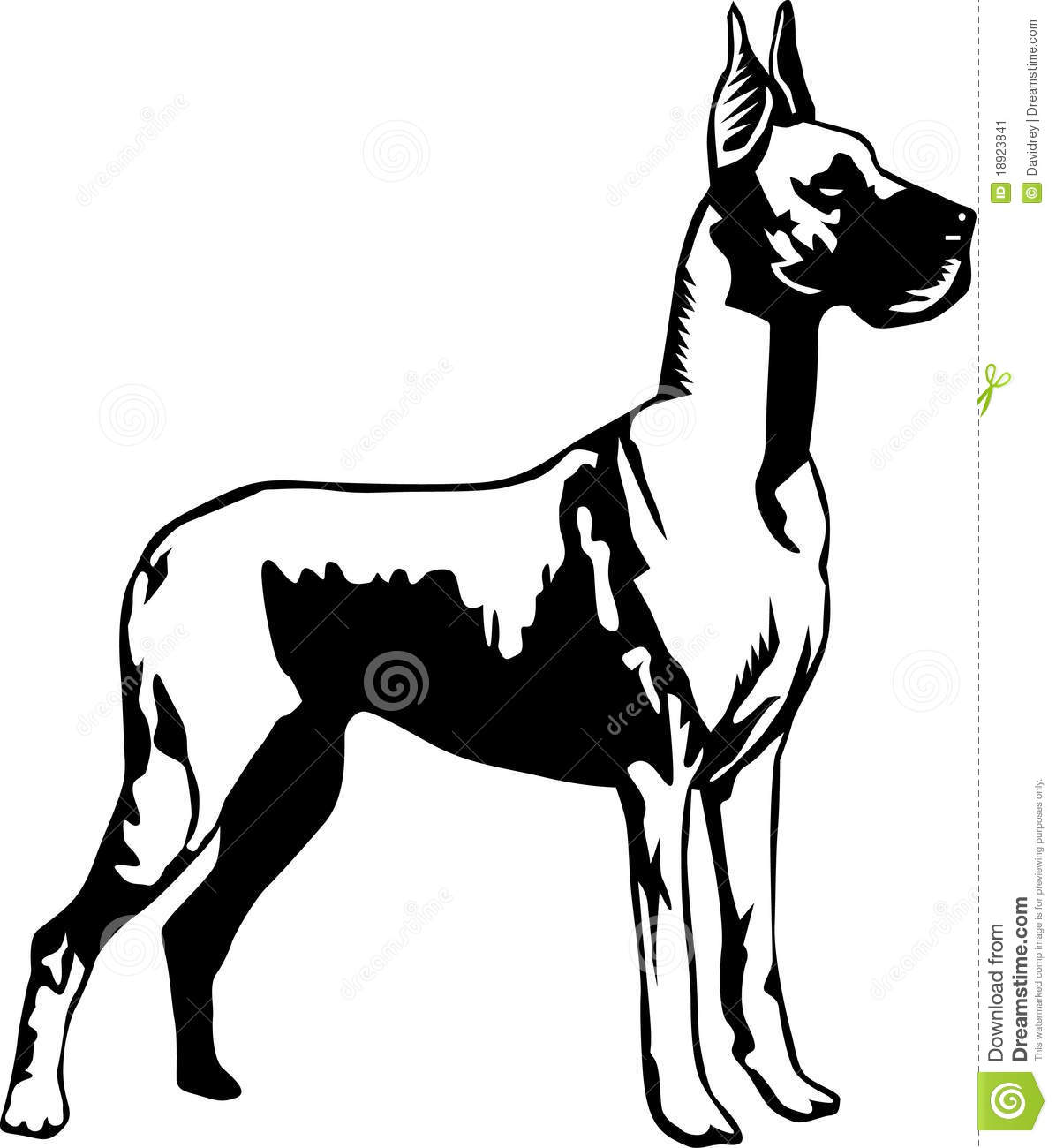 1196x1300 Collection Of Free Facing Clipart Great Dane. Download On Ubisafe