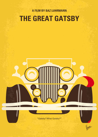 400x561 No206 My The Great Gatsby Minimal Movie Poster By Chungkong On
