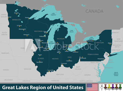 500x371 Great Lakes Region Of United States
