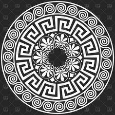 Greek Patterns Vector