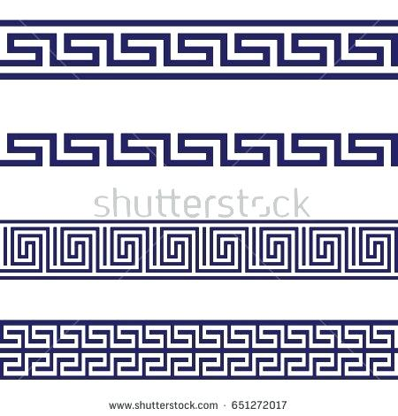 450x470 Greek Pattern Classical Meander Ancient Grey Backgrounds Textures