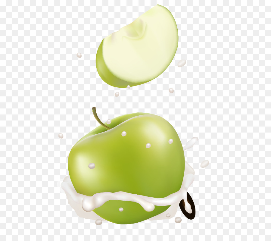 900x800 Granny Smith Milk Apple Auglis