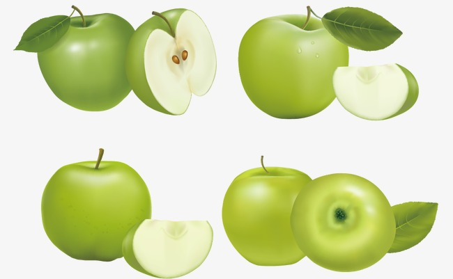 650x401 Green Apple Vector, Green Vector, Apple Vector, Apple Png And
