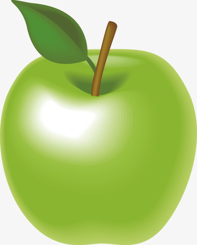 650x808 Green Apple Vector, Green Vector, Apple Vector, Cartoon Png And
