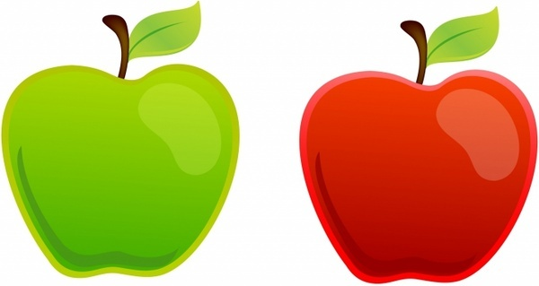 600x319 Green Apple Border Free Vector Download (12,926 Free Vector) For