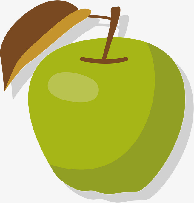 650x677 Ripe Green Apple, Green Vector, Apple Vector, Vector Png Png And