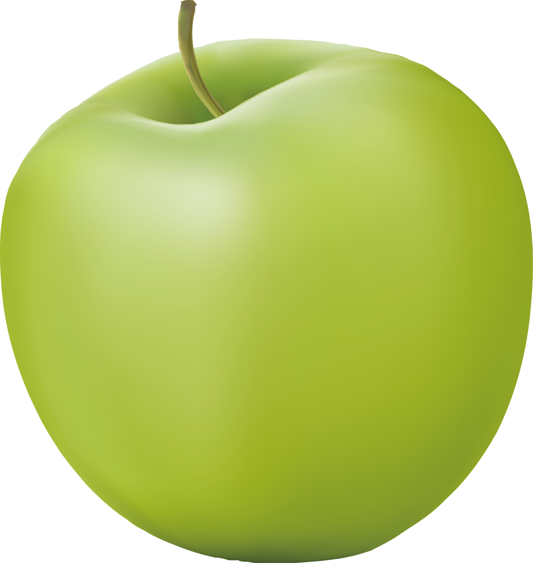 1808x1908 Granny Smith Green Apple