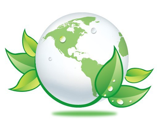 509x386 Free Blue Planet Green Earth Concept Illustration Vector 06