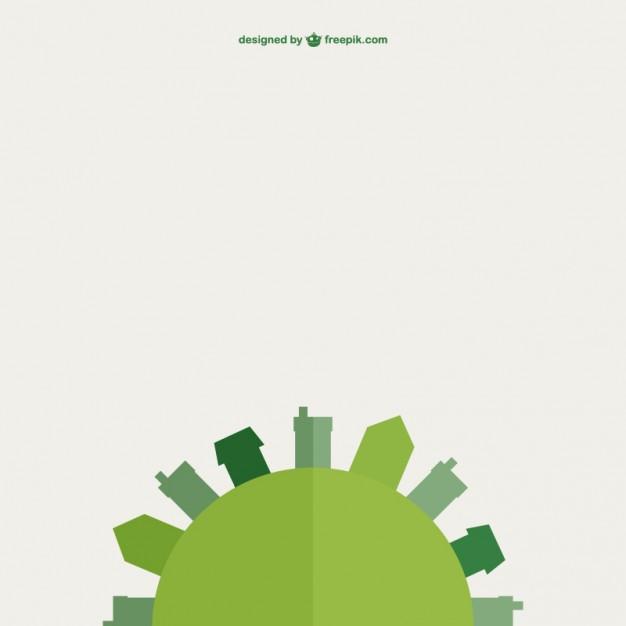 626x626 Green Earth Vector Flat Design Vector Free Vector Download In