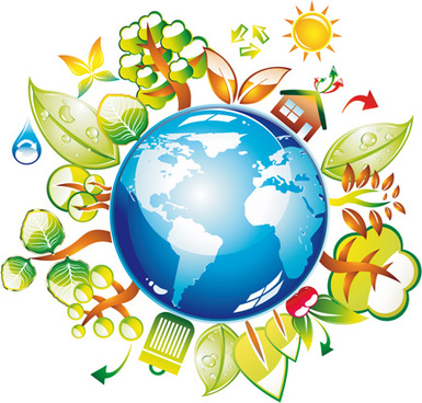 385x368 Green Earth Free Vector Download (7,624 Free Vector) For