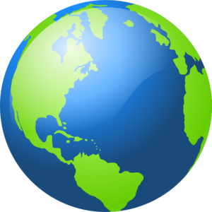300x300 Large Blue And Green Earth Clip Art