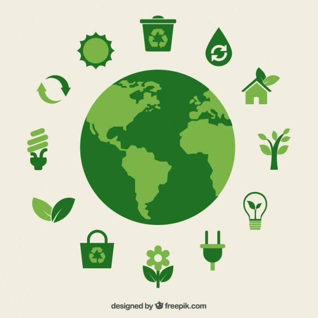 626x626 Eco Earth And Green Icons Vector Premium Download