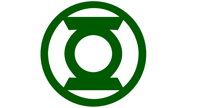 2660x1440 Green Lantern Logo Vector