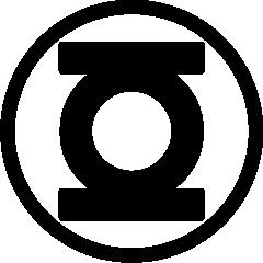 240x240 Green Lantern Logo Vector