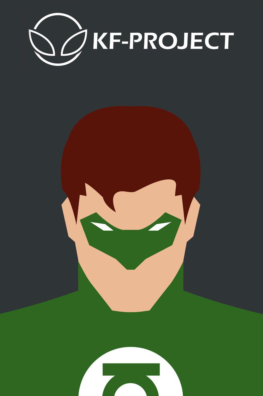 900x1353 Green Lantern Minimalist By Kf Project