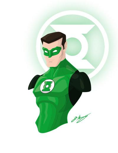 400x517 Green Lantern Vector Bust 120813 By Jrmurray76