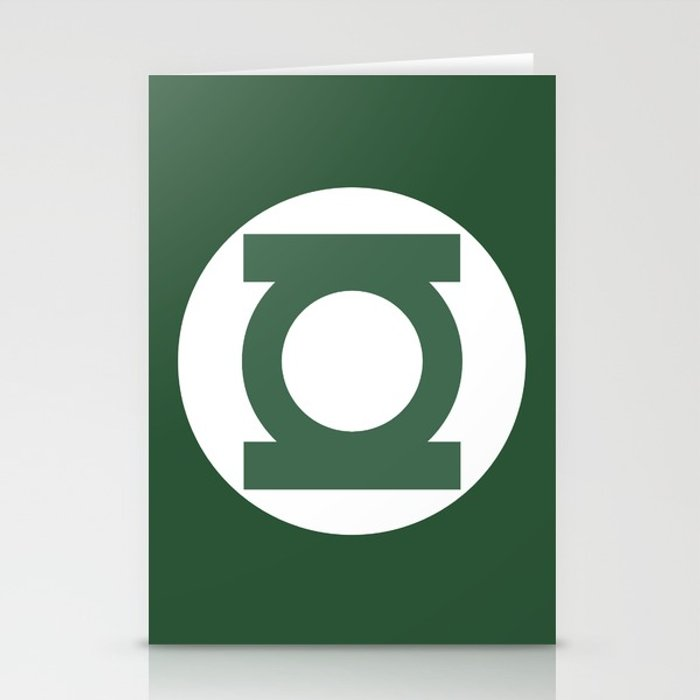 700x700 Green Lantern Vector Logo Stationery Cards By Thevectorstudio