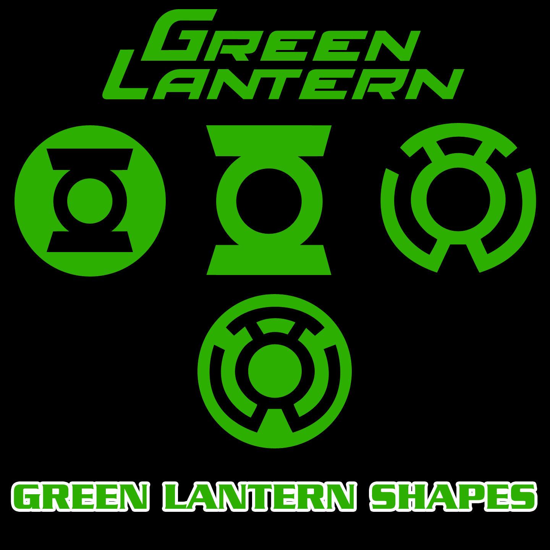 1440x1440 Green Lantern Vector Shapes By Retoucher07030