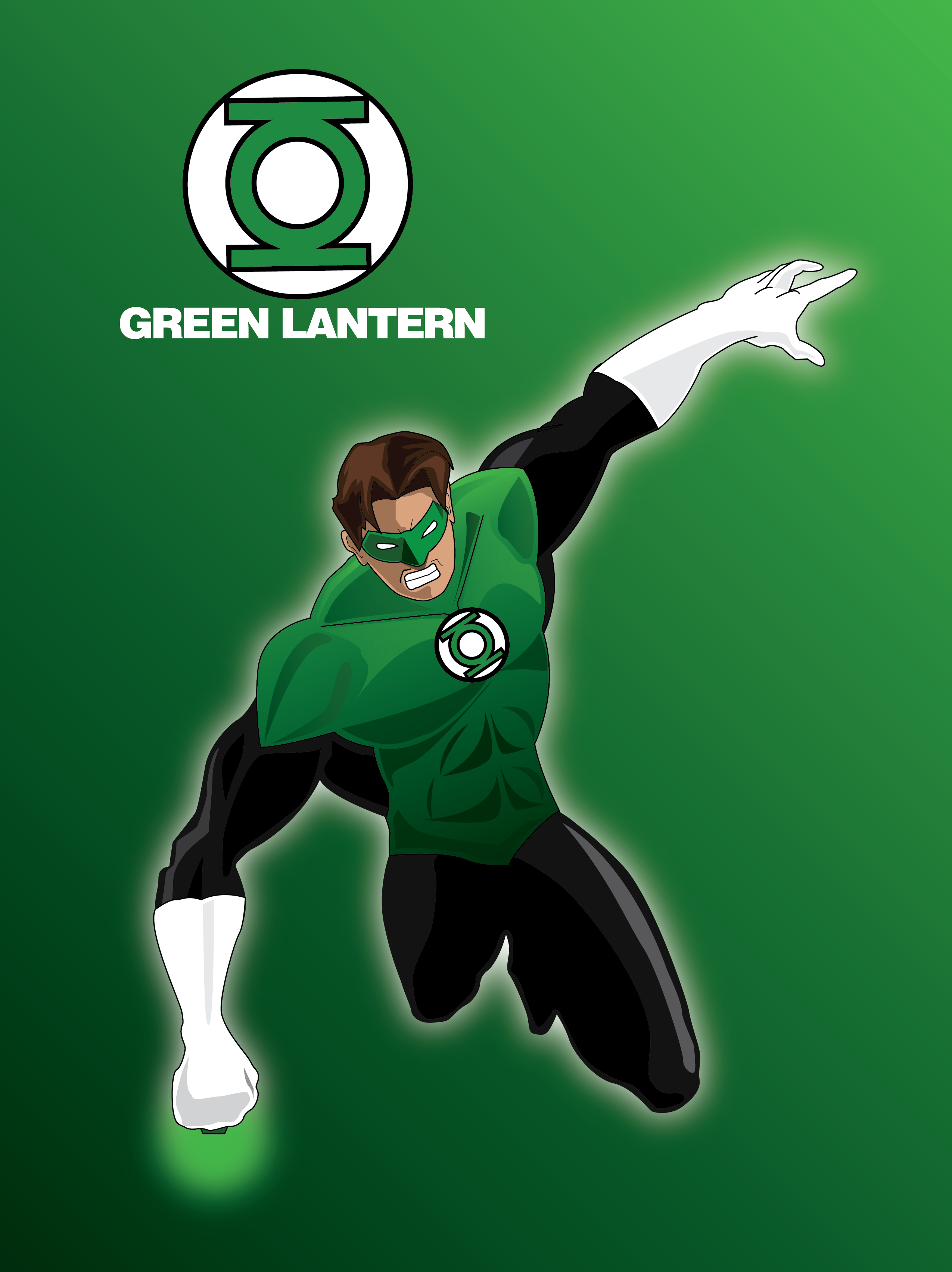 2550x3406 Green Lantern