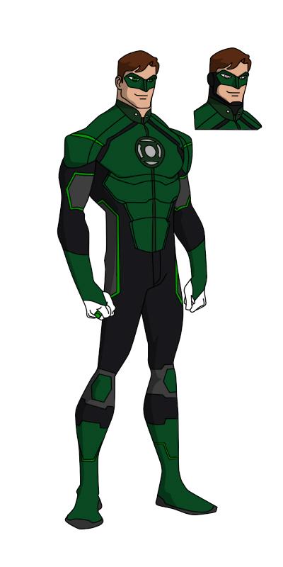 400x800 Yj Style Green Lantern By Shorterazer