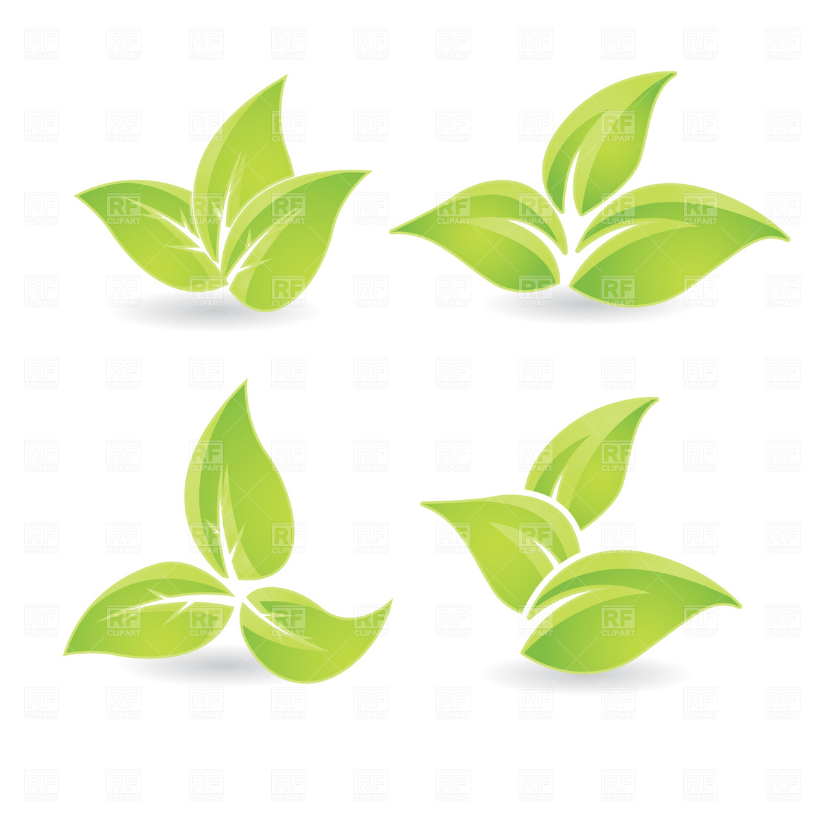 1200x1200 Green Leaf Vector Image Vector Artwork Of Plants And Animals