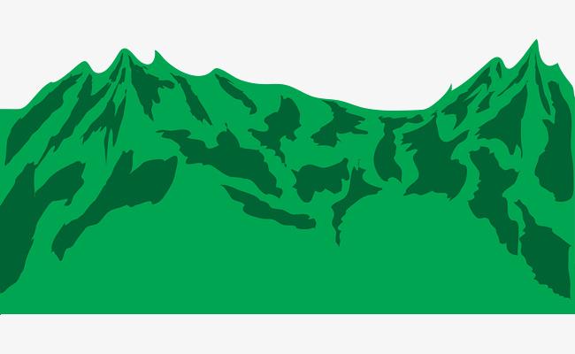 650x400 Vector Green Mountains, Green Vector, Green Vector, Mountains Png