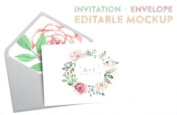 600x390 Invitation Mockup Free Fresh Free Greeting Card Mockup Zippypixels