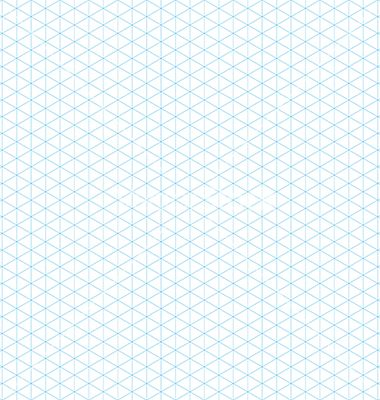 380x400 Empty Isometric Grid Seamless Pattern Vector Isometric Paper