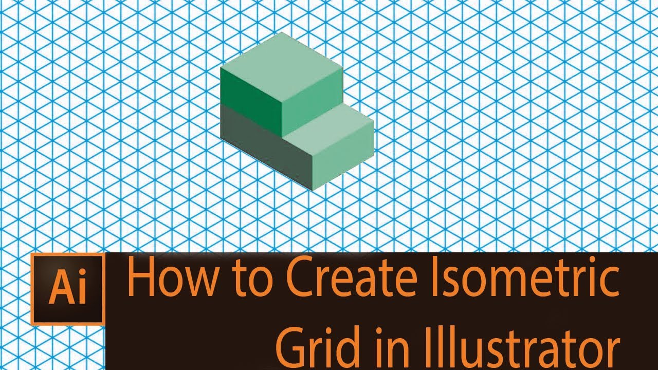 1280x720 How To Create Isometric Grid In Illustrator Isometric Grid