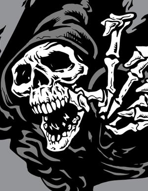 300x387 Grim Reaper Vector Graphics Vector Genius