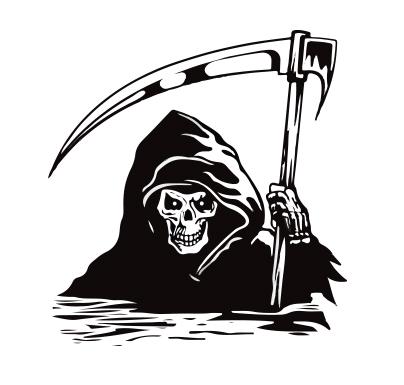 404x385 Grim Reaper Vector, Images For Gt Tribal Grim Reaper Designs