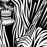 200x200 Grim Reaper Vector Art By Vectorfreak Graphicriver