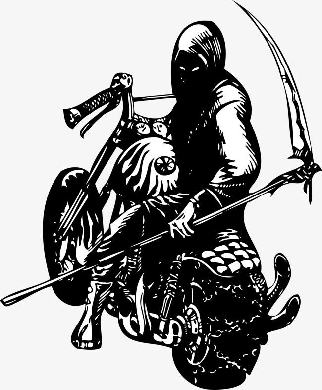 650x786 Vector Motorcycle Death, Motorcycle Vector, Bosozoku, Grim Reaper