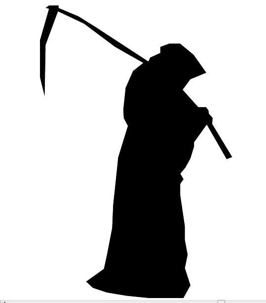 539x613 Digital Imaging Vector Image Grim Reaper.