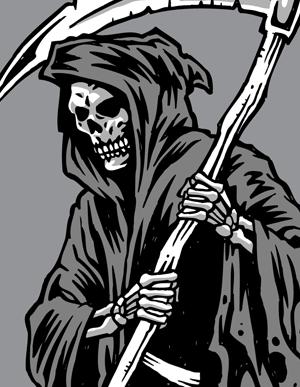 300x387 Grim Reaper Clipart Vector Genius