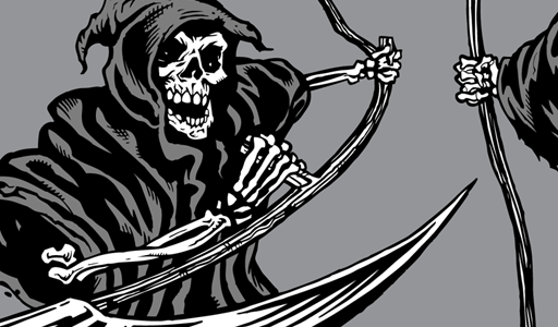512x300 Grim Reaper Vector Graphics Vector Genius