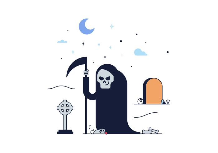 700x490 Grim Reaper Death Vector