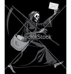 236x248 Grim Reaper Vector Art Grim Reaper. Grim Reaper