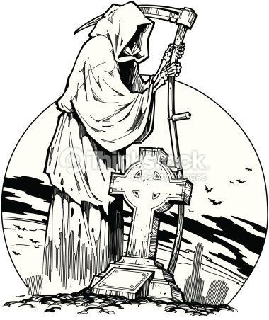 380x452 Collection Of Grim Reaper Hood Drawing High Quality, Free