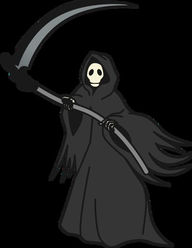387x500 Grim Reaper Vector Image Public Domain Vectors