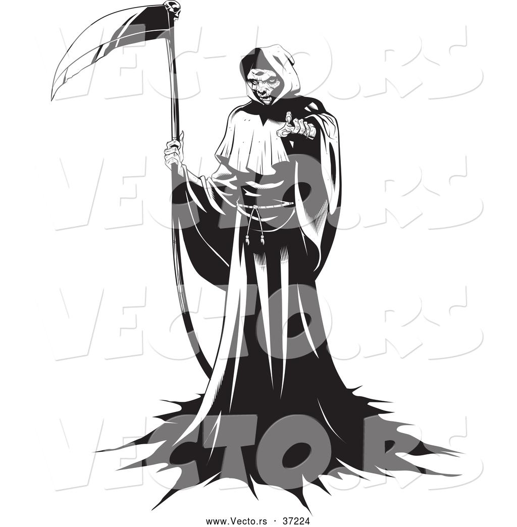 1024x1044 Vector Art Clipart Grim Reaper 14