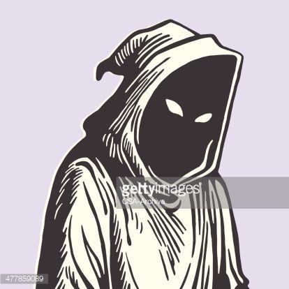 414x414 Hooded Grim Reaper Halloween Grim Reaper, Vector