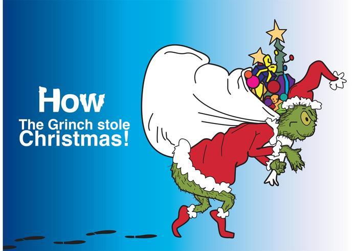 700x490 How The Grinch Stole Christmas Vector