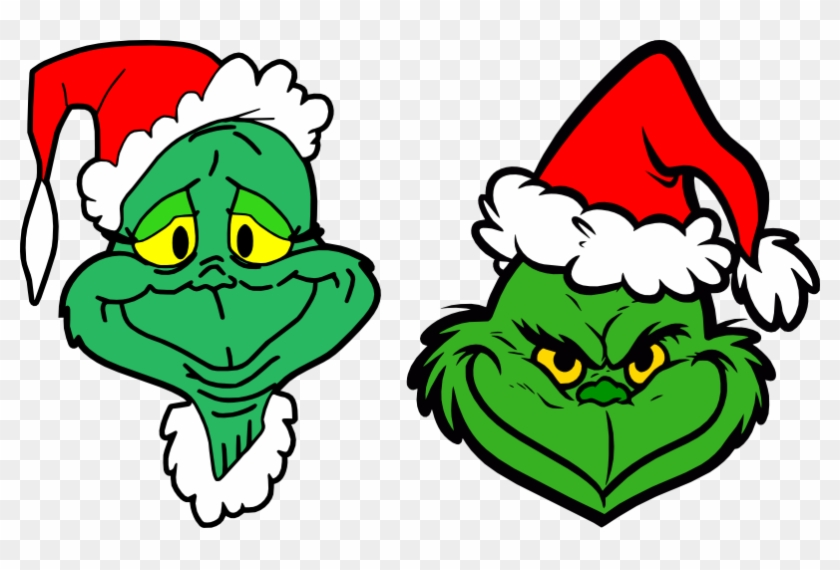 Grinch Face Vector at GetDrawings | Free download