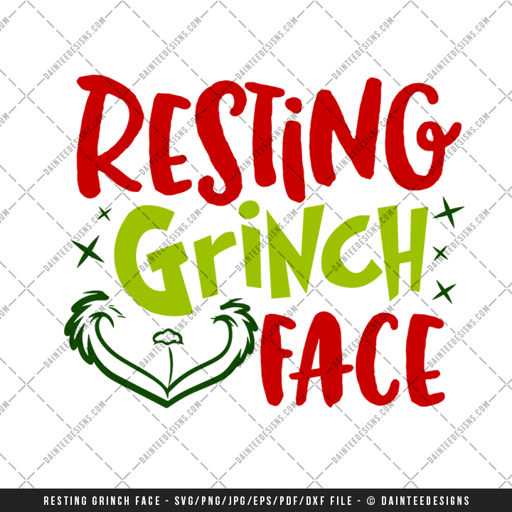 Christmas Grinch Svg.Grinch Face Vector At Getdrawings Com Free For Personal