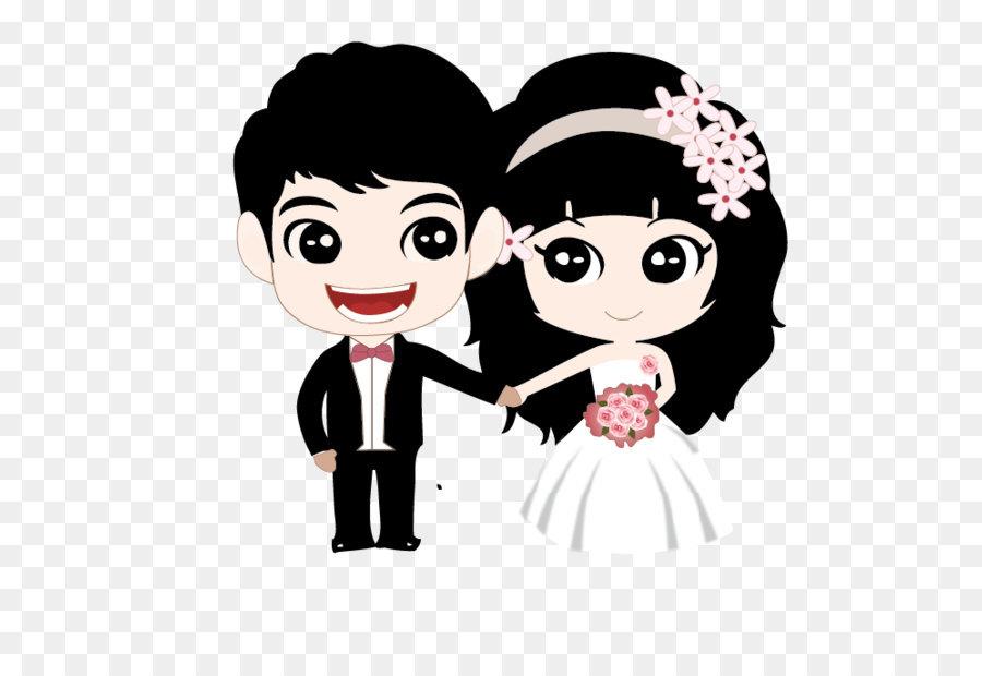 900x620 Couple Marriage Cartoon