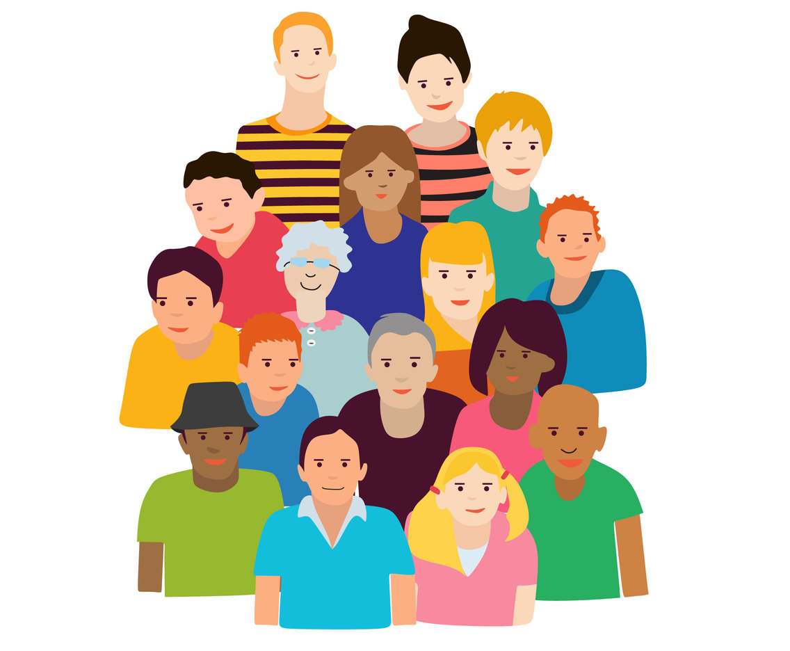 1136x936 Group Of People Vector Vector Art Amp Graphics