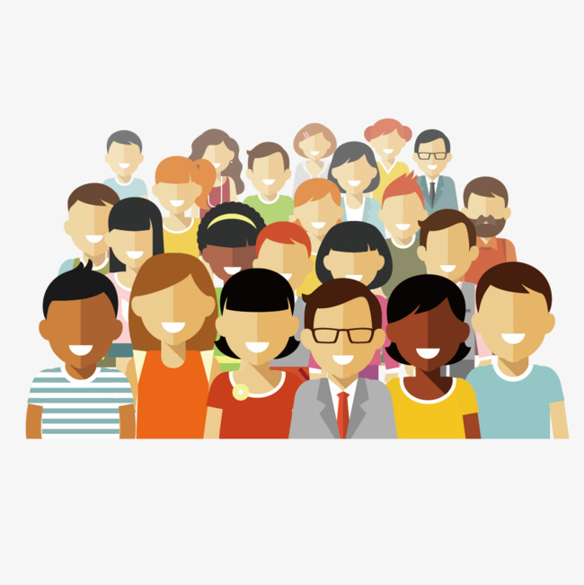 650x651 Vector Group Of People, People Clipart, Vector, Character Png And